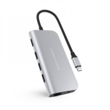 HyperDrive POWER 9 v 1 USB-C Hub – Silver