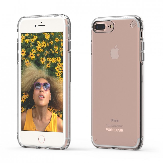 PureGear Slim Shell kryt pre iPhone 7 Plus / 8 Plus - transparentný