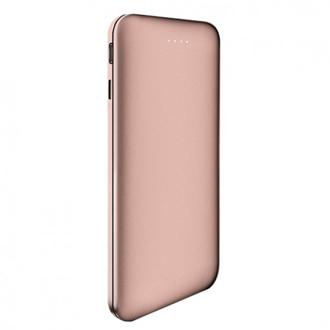 Zikko PowerBook Lightning USB Battery 5000mAh - Rose Gold