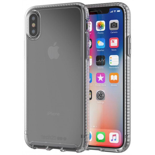 Tech21 Pure Clear pre iPhone X - transparentné