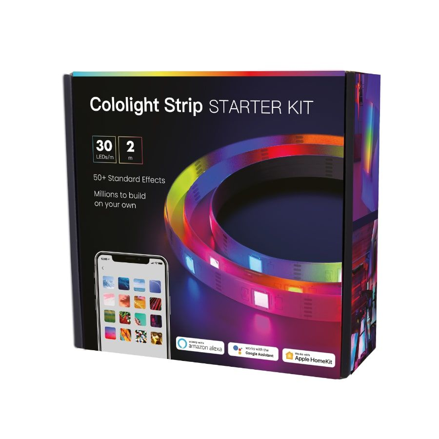 Cololight Strip Starter Kit - smart LED pásik, 30 LED / m, 2 m