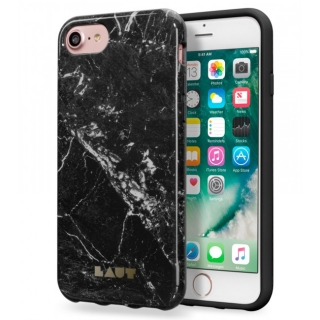 LAUT Huex Elements púzdro pre iPhone 8/7 - Marble Black