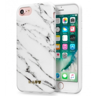 LAUT Huex Elements púzdro pre iPhone 8/7 - Marble White