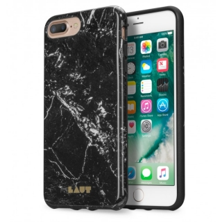 LAUT Huex Elements púzdro pre iPhone 8 PLUS /7 PLUS - Marble Black