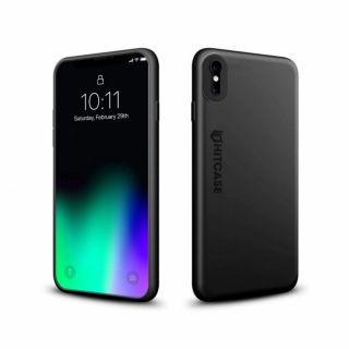 Hitcase Crio kryt pre iPhone X a XS - carbon black