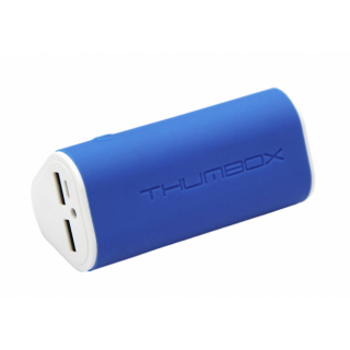 Thumbox 7800 powerbanka - modrá