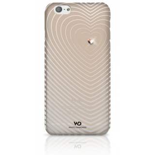 White Diamonds Heartbeat pre iPhone 6/6S zlatý