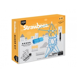 Strawbees Maker Kit - sada Staviteľ